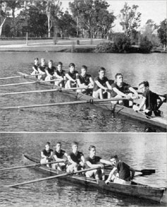 1st Eight 1959 and Training Four