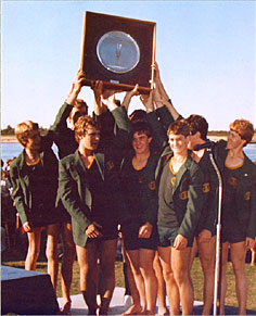 Pembroke Rowing Club 1983 Head Of The River Winners